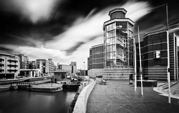 canal and armouries