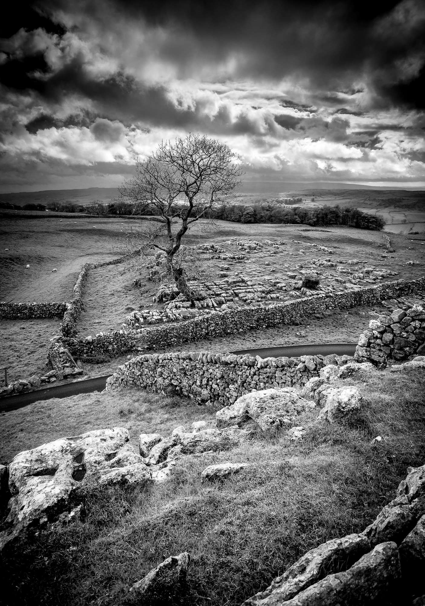 Lightroom creating a black and white landscape mcfade for Creating a landscape