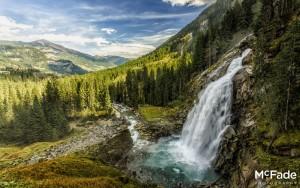 Europe's Highest Waterfall – Krimmler, Austria