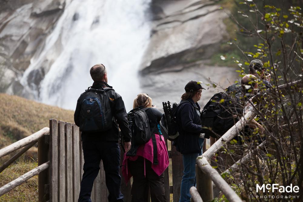 150 austria tirol krimler waterfall