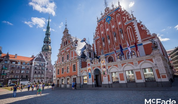 Photos from the Old Town in Riga, Latvia