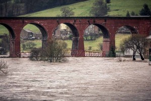 Whalley in Deep Water – Flood Photos in Full Force