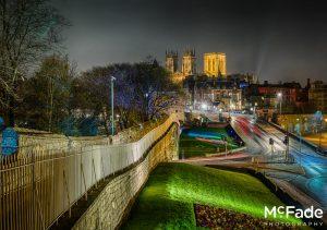 York Photography – A Beautiful City at Night