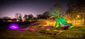 Night Photography at Kirkstall Abbey, Leeds
