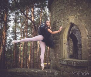 Abi the Ballerina – in some woods