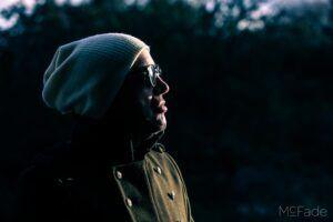 Tilt shift lens for portraits of Andy Taylor Boocock